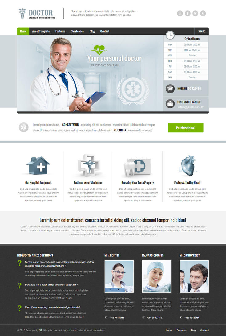 Doctor - Mr. WordPress by ait-themes