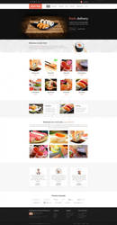 SUSHI food delivery wordpress theme by ait-themes