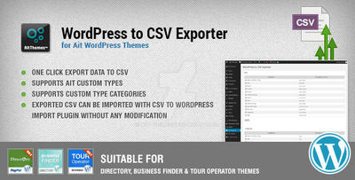 WordPress to CSV Exporter by ait-themes