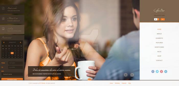 CoffeeBar Multilingual Responsive WordPress Theme