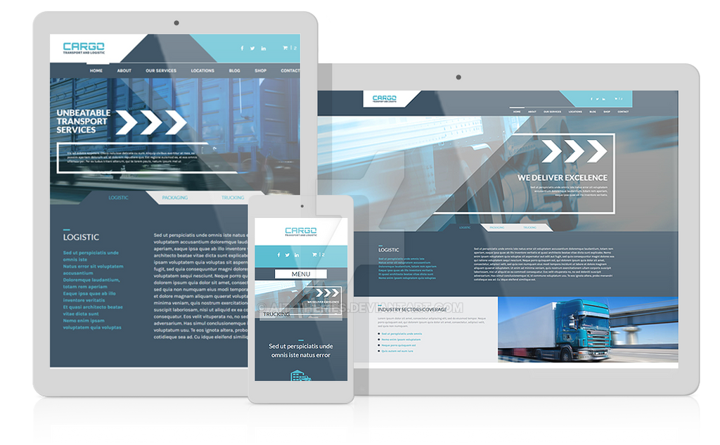 Cargo - Transport and logistic WordPress Theme by ait-themes