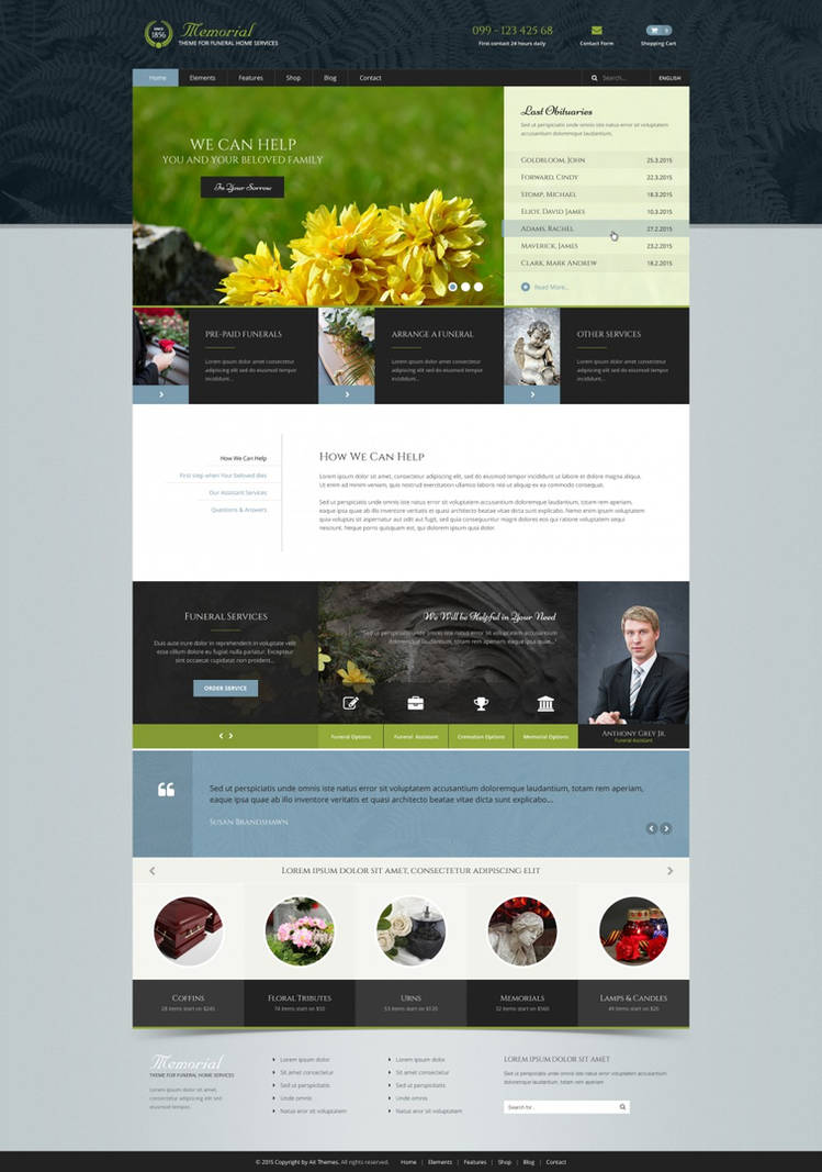 Memorial WordPress Theme by ait-themes