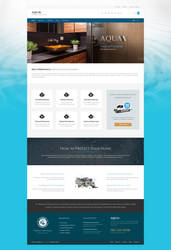 Aqua WordPress Theme for Plumbers