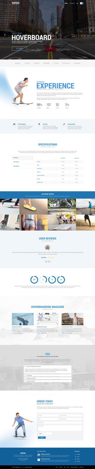 OnePage WordPress Theme by ait-themes