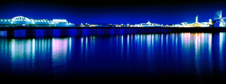Brighton Pier - Green by zennylucidez