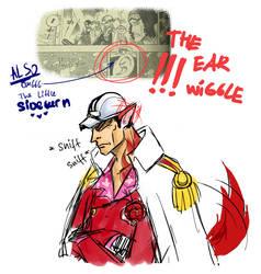 551 - Ear Wiggle by alinka