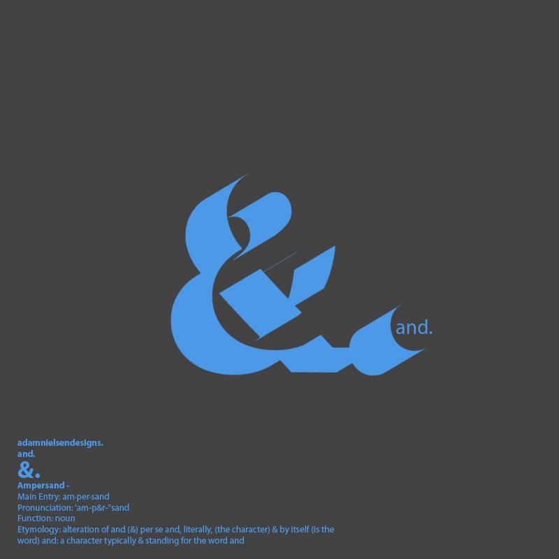 Ampersand Logo by adamnielsen