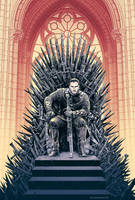 King Snow - Game of Thrones by Cristian Sanchez by Cristiansanchezart