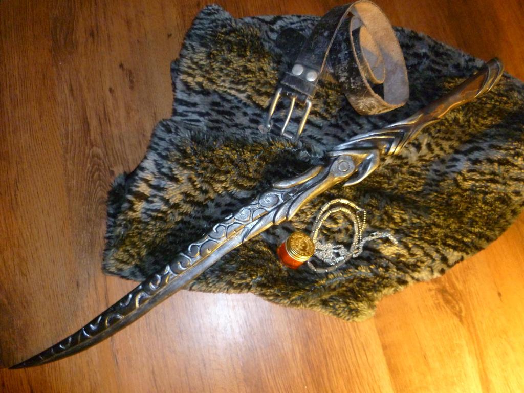 Skyrim ebony sword replica