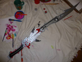W.I.P Lightning's Gunblade Blazefire Saber by RPG-Creations