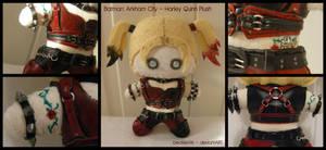 Batman: Arkham City - Harley Quinn Plush by StitchedAlchemy