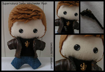 Supernatural: Dean Plush by StitchedAlchemy