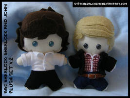 BBC Sherlock: Sherlock and John Plush Set V.2