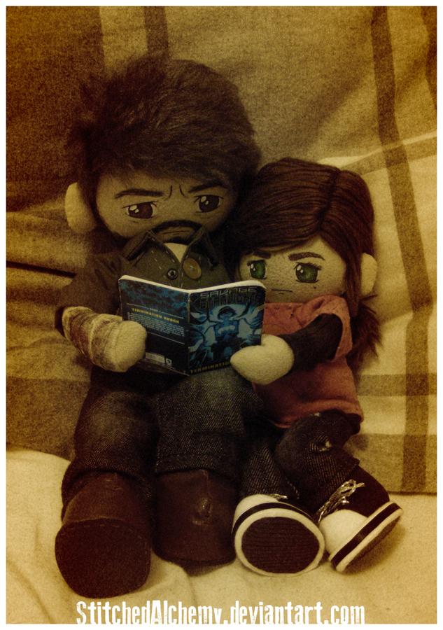 Joel... Read to me? by StitchedAlchemy