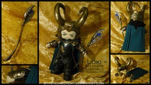 Avengers Assemble: Loki Plush