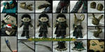 Loki: God of Mischief ~ Plush Details by StitchedAlchemy