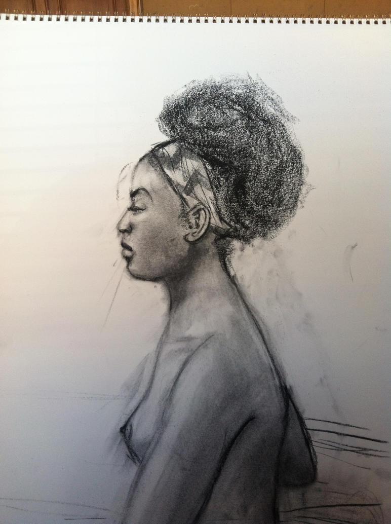 Portrait Study 2 by DelightfulDistortion