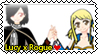 Stamp Rogue x Lucy [Request for Altrilast13] by SandraDibujante
