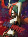 Harley Quinn Redraw- Unhate