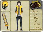 Berserker Leader ::Gold Ranger:: Riley