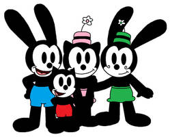 Oswald and co. group 3 by Mega-Shonen-One-64