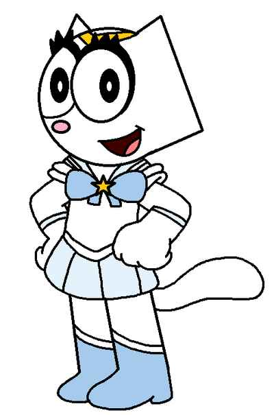 Kitty in her Sailor Scout by MarcosLucky96