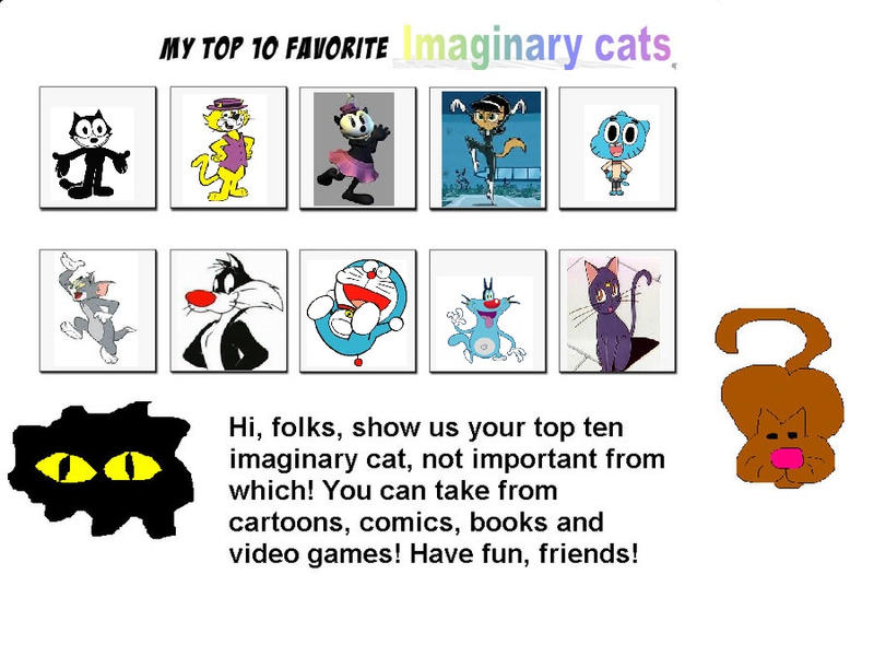 My Top 10 Favorite Cats by MarcosLucky96