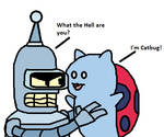 Bender and Catbug