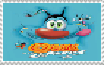 Oggy and the Cockroaches Movie Stamp by ElMarcosLuckydel96