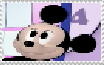 Toddler Mickey Mouse stamp by ElMarcosLuckydel96
