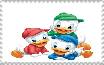 Huey, Dewey, and Louie Stamp by MarcosPower1996
