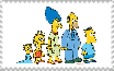 Simpsons Tracey Ullman stamp by ElMarcosLuckydel96