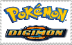 Pokemon and Digimon Stamp by Mega-Shonen-One-64