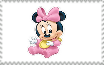 Baby Minnie Stamp by SuperMarcosLucky96