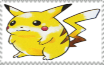 Classic Pikachu Stamp by MarcosPower1996