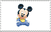 Baby Mickey Stamp by ElMarcosLuckydel96