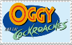 Oggy and the Cockroaches Logo Stamp by MarcosLucky96