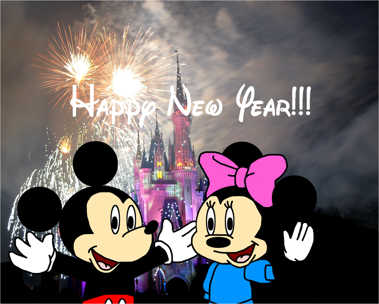 Felicidades Zubi y disneylanders - Página 3 Mickey_and_minnie_wish_happy_new_year_by_ozzyguy-d707rc0