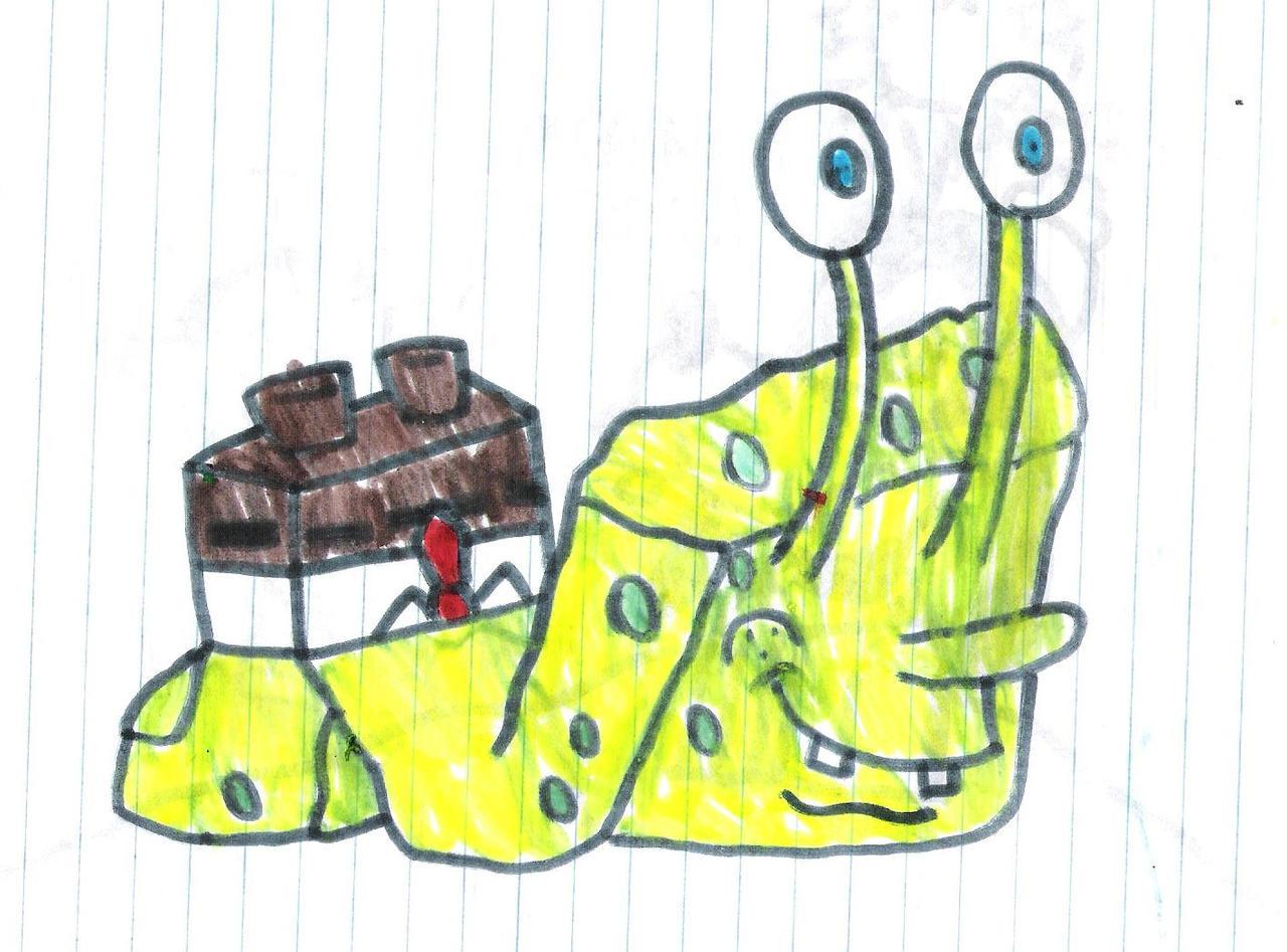 snail spongebob by marcospower1996 on deviantart