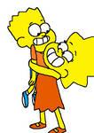 Bart and Lisa - Gravity Falls style