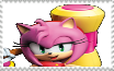 SB Amy Rose Stamp by MarcosPower1996