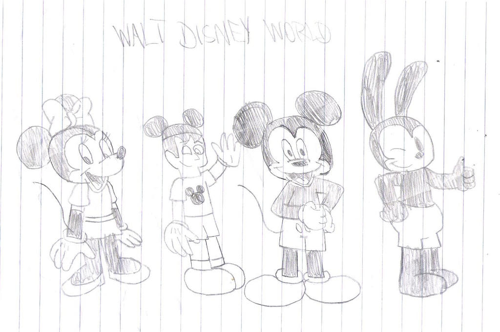 Me and Disney characters by SuperMarcosLucky96
