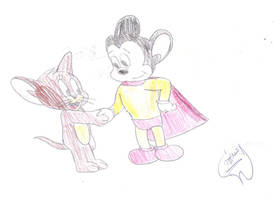 Jerry meets Mighty Mouse by Mega-Shonen-One-64