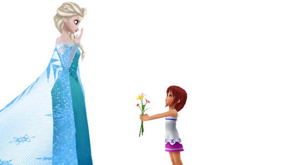 [MMD] For you, Elsa by MarcosPower1996