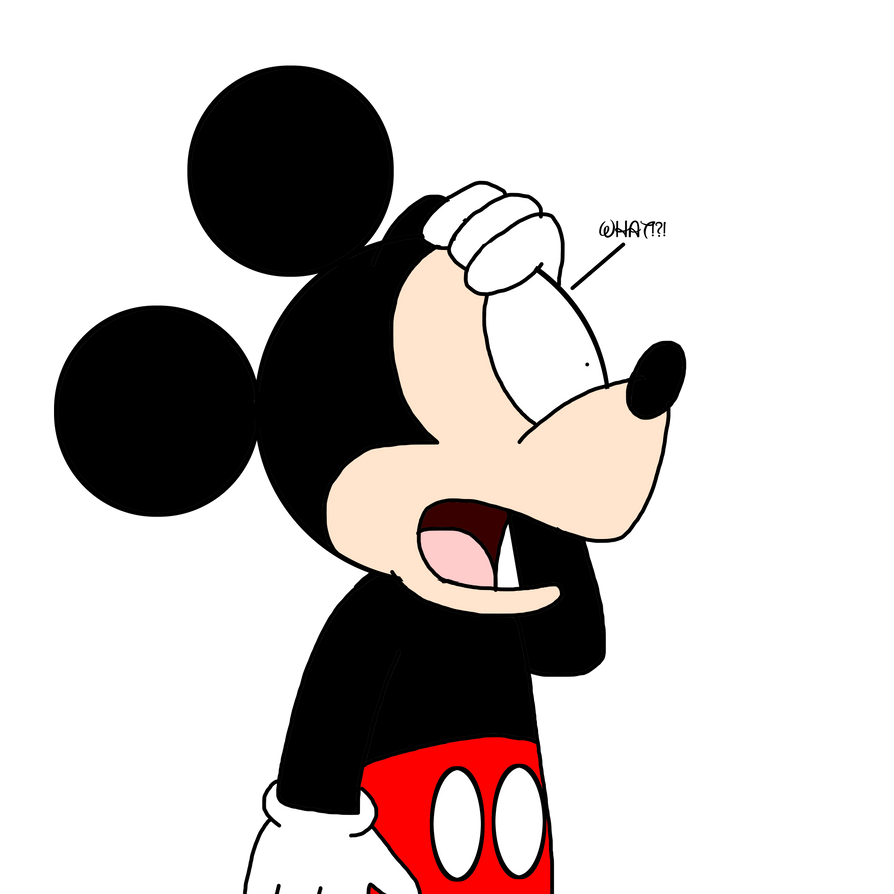 Mickey Reaction Of Disney Begin Sued By MarcosPower1996 On Mouse Middle Finger