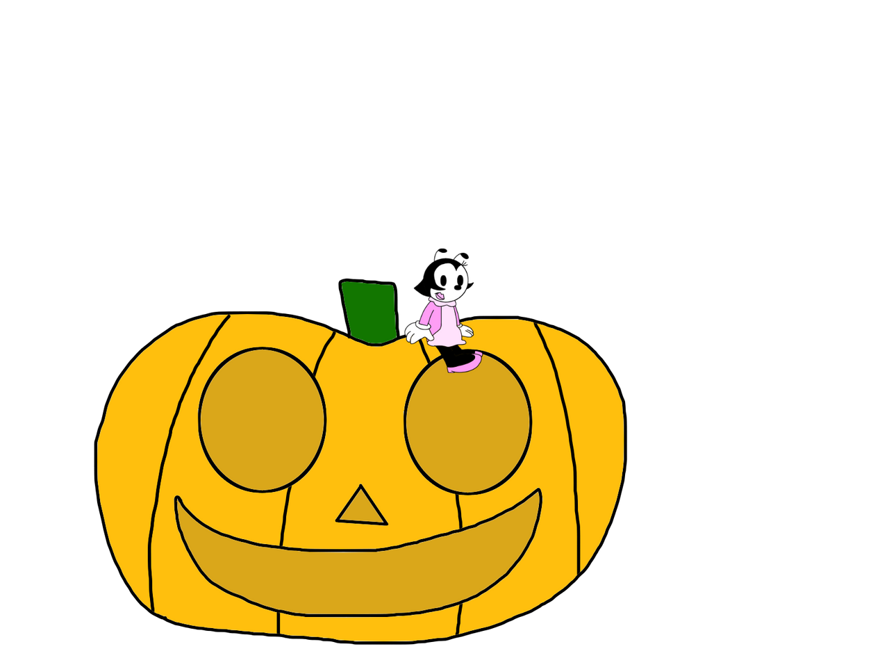 June Bug with a pumpkin by MarcosPower1996 on DeviantArt