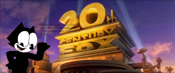 Felix with 20th Century Fox logo
