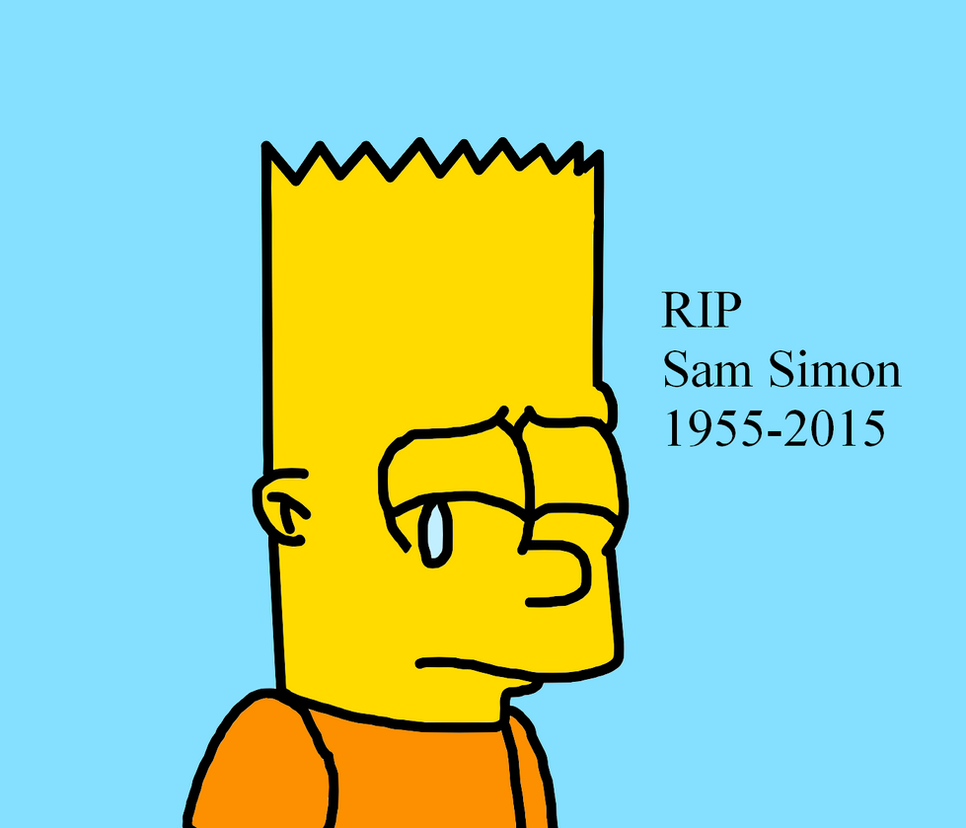 RIP Sam Simon by SuperMarcosLucky96