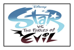 Star vs. The Forces of Evil Stamp by MarcosPower1996