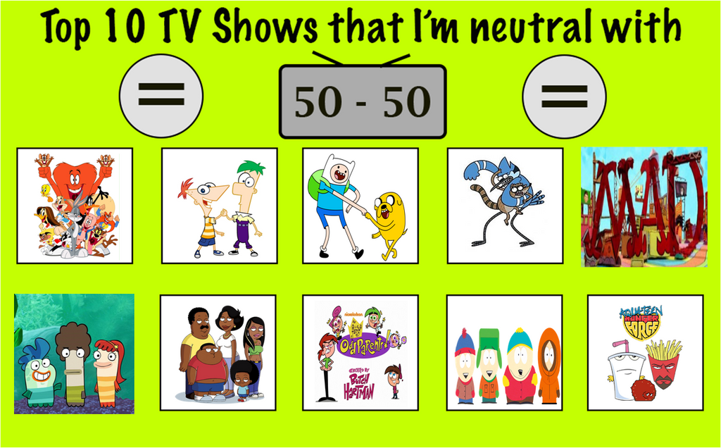Top 10 tv shows that i 39 m neutral by marcospower1996 on for Craft shows on tv